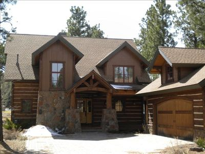 luxury vacation rental on flagstaff ranch golf course