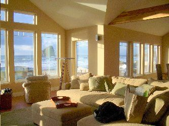 Pacific City house rental - Living Room