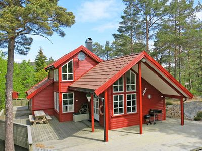 Vacation home Tvedestrand  in Dypvåg, Southern Norway - 8 persons, 4 bedrooms