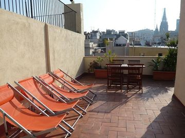 Barrio Gotico apartment rental - Terrace I