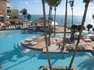 El Conquistador Resort Pools