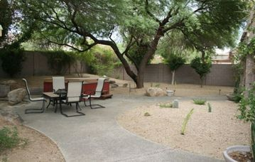 Other Scottsdale Properties house rental - Spacious well-manicured backyard. Lots of room to run. Fully enclosed privacy