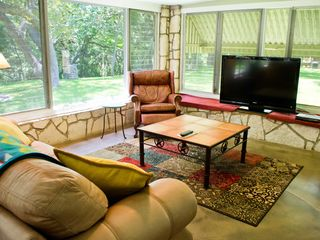 Wimberley property rental photo - Large Flat screen TV
