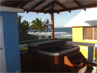 SPA overlooking the beach - June 2012 - Cabarete villa vacation rental photo