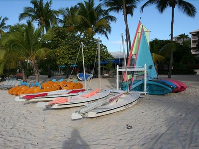 Rent kayaks, sailboats, paddle boats and more at the beach shack