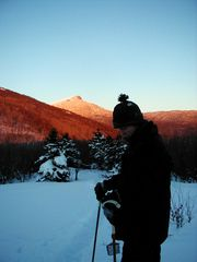 Huntington barn photo - View of Camel's Hump from Little Baldie, the top of the Fielder Farm