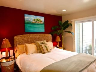 A Lower Bedroom Suite w/ Adjacent Full Bathroom - Santa Cruz house vacation rental photo
