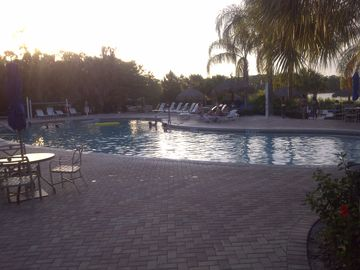 Main pool by the restaurant Tradewinds
