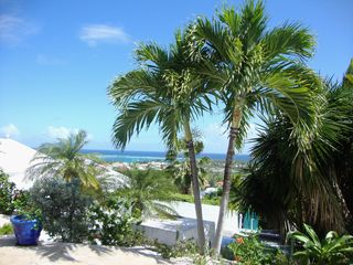 Orient Bay villa photo - View from the deck