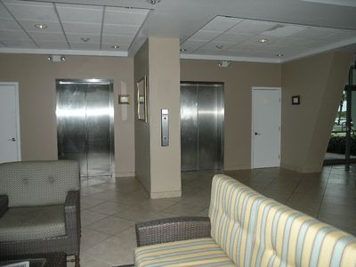 Galveston condo rental - Lobby of Inlander East.