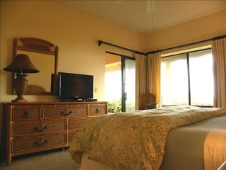 Amelia Island condo photo - Master Bedroom with HD TV