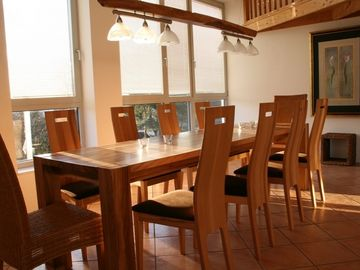 Dining area for 8 people / dining