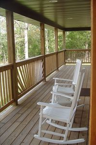 Enjoy our huge wrap-around porch!