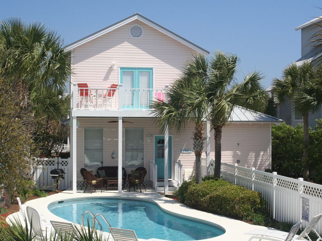 39 flamingo breeze 39 private pool in crystal beach destin