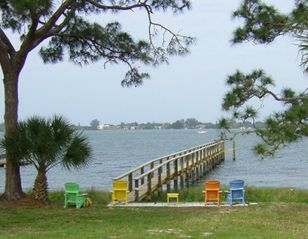 Englewood cottage photo - View of Lemon Bay from cottage