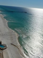 Tidewater Beach Resort condo photo - Balcony view - overlooking the Pier Park