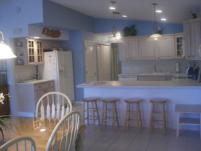 Key Colony Beach house rental - Open Kitchen with Everything You Need ... except Food!