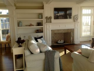 Provincetown estate photo - Comfortable and Open Living Room, Great for Entertaining or Relaxing