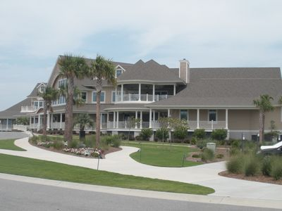 The clubhouse at the Seabrook lsland Club