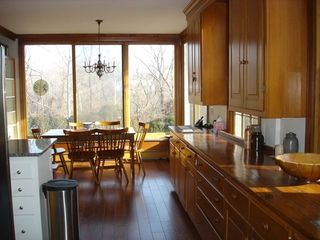 Middleburg house photo - Kitchen seating with river view