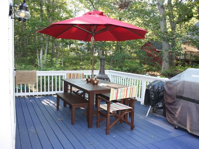 Outside Patio deck