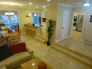 Anaheim house photo - Spacious open floor, natural stones and pine furniture, great for entertainment