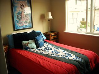 Surfer Cool in this double bed - Redondo Beach house vacation rental photo
