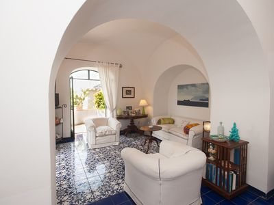 Casa Giardino,elegant villa in the heart of Positano,garden,terrace, sea view