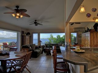 East End villa photo - View towards BVI From Granite Kitchen!