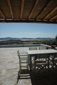 Looking out to Antiparos