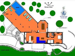 Pool Level Floor Plan