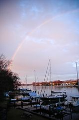 Annapolis cottage photo - Rainbow over the River