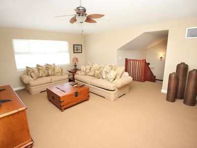 Waikoloa Beach Resort condo rental - The loft has a TV and pull out - great for kids