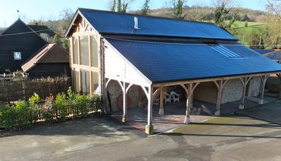 Beautiful Barn With Outstanding Views And High Quality Facilities