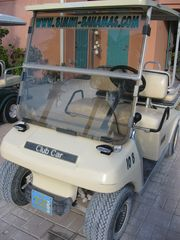 Golf Cart available upon request - Bimini condo vacation rental photo