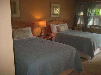 Master Bedroom with 2 Full Size beds