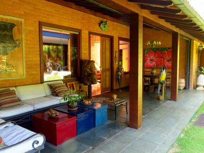 Cozy cottage with great refinement, leisure amid forest and 4 service
