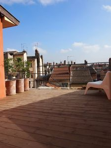 Private roof terrace of Vieux LyonLuxury Apartment