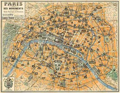 Map of old PARIS