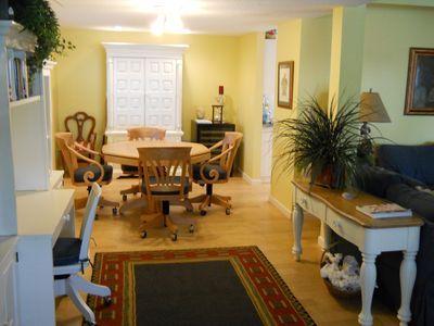 Clearwater Beach house rental - Gaming/Office Area