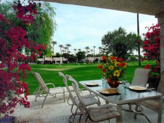 La Quinta house photo - Outdoor dining on patio