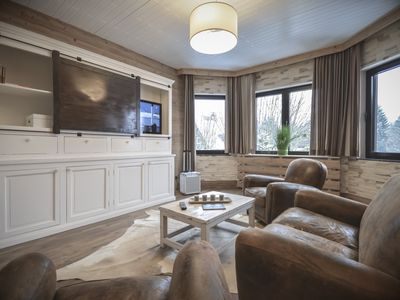 Beautifully furnished designer apartment in alpine style with a private sauna