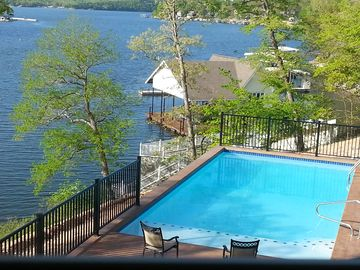 "Camdenton house rental - View From ""New Pool""!"