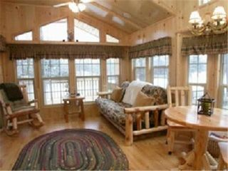 Lakeside cabin photo - Living Room Area