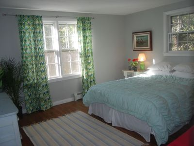 Chatham house rental - master bedroom