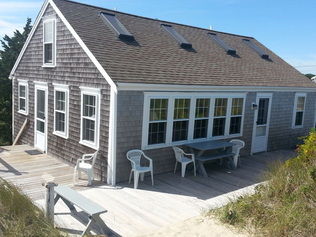 Ocean Front Cottage On Sandy Private Beach Vrbo