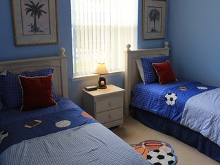 Davenport house photo - The twin rooms are perfect for the kids