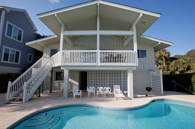 beach house with pool for rent north carolina house