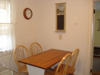 Dennisport cottage photo - Kitchen seating area