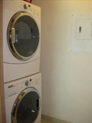 Nuevo Vallarta condo photo - Full size Washer and Dryer in Utility room